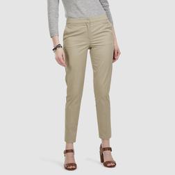Стильные укороченные брюки чинос из хлопка TR 116