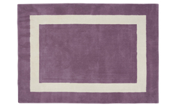 Шерстяной ковер цвета спелого винограда LEWES 140*200 (Purple)