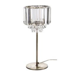 Лампа с абажуром из стекла VIENNA 35*15,5 (Antique Brass)