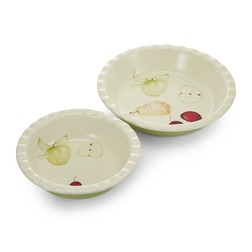 Набор форм для пирога FRUIT PIE DISHES SET OF 2 4,5*26, 4,5*21 (Multi)