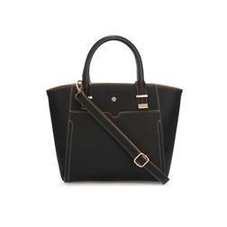 Компактная  сумка черного цвета в классическом дизайне BG 364