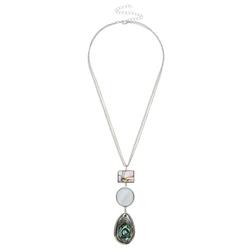 Невероятно красивое ожерелье с натуралным перламутром JW 477 Multi