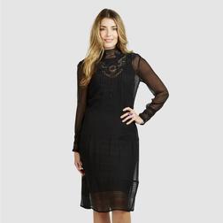 Эксклюзивное вечернее платье черного цвета из 100% шелка MD 363