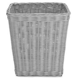 Плетеная корзина для бумаги RATTAN WASTE PAPER BIN 28*28*29 (Grey)