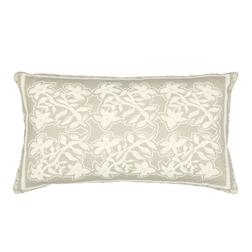 Декоративная подушка в цветы GREENWICH 30*50 (Steel)
