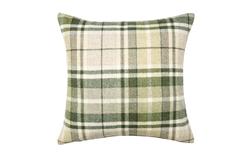 Декоративная подушка в клетку зеленого цвета MULHOLLAND 50*47 (Hedgerow)