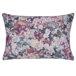 Красивая декоративная подушка в цветы ANTONIA CUSHION GRAPE 40*60 (Grape)