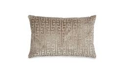 Декоративная подушка с объемным рисунком LOVINA VELOUR 40*60 (Truffle)
