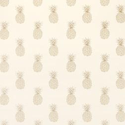 Ткань для штор в ананасы PINEAPPLE (Pewter)