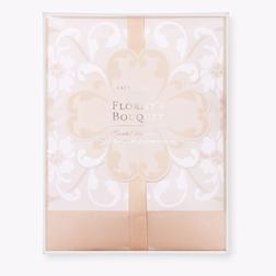 Маленькая ароматическая бумага с цветочным ароматом FLORISTS BOUQUET DRAWER SACHETS 13*14,5*1,5 (Pin
