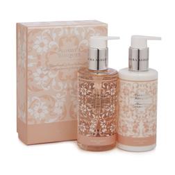 Подарочный набор с цветочным ароматом FLORISTS BOUQUET HAND WASH&LOTION 17*6*12 (Pink)