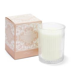 Ароматическая свеча с цветочным ароматом FLORISTS BOUQUET BOX 8*8*10 (Pink)