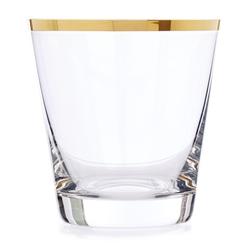 Прозрачный стакан с золотой каемочкой RIM TUMBLER 9,8*9,7 (Gold)