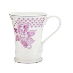 Фарфоровая чашка с цветочным рисунком BAROQUE REGENT 8,5*12*11 (Amethyst)