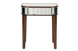 Зеркальная тумбочка CAPRI SIDE TABLE 60*50*35
