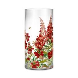 Прозрачная ваза в яркие цветы FERNSHAW VASE 17,6*22,6 (Multi)