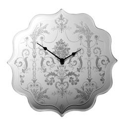 Зеркальные часы с элегантным рисунком JOSETTE WALL 35*35*4,5 (Mirror)