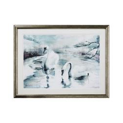 Картина с лебедями SWAN SCENE FRAMED 60*47 (Multi)