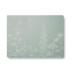 Разделочная доска с цветочным рисунком LISETTE WORKTOP SAVER 40*30 (Grey)