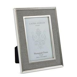 Рамка для фото с тканевой вставкой серого цвета HARRISON 15*10 (Charcoal)
