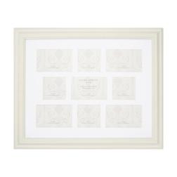 Большая рамка на 9 фотографий SQUARE 9 APERTURE 58*48 (White)