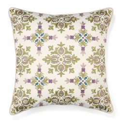Декоративная подушка с цветной вышивкой PETWORTH 50*50 (Hedgerow)