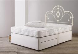 База для двойной кровати DIVAN 4FT6 2DRW BASE 36*135*190 (Linen)