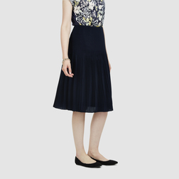 Привлекательная юбка темно-синего цвета  MS 553