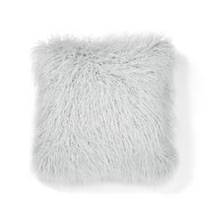 Декоративная подушка с длинным ворсом DUNMORE 43*43 (Grey)