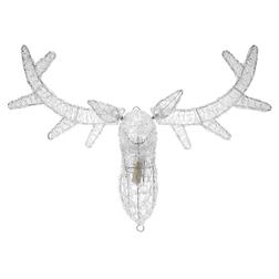 Новогодний декор голова оленя REINDEER HEAD LIT 59*17*55 (Clear)