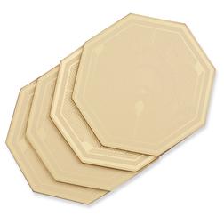 Набор подставок под чашку золотистого цвета MONTAGE SET OF 4 COASTERS 10,5*10, 5 (Gold)