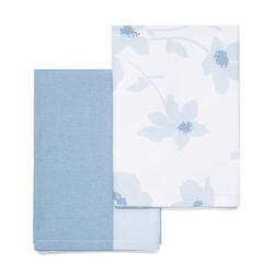 Набор полотенец в голубой гамме SIMONE SET OF 2 TEA TOWELS 18*24 (Blue)