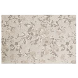 Тонкий ковер с цветочным рисунком GRACE FLORAL 120*180 (Silver)