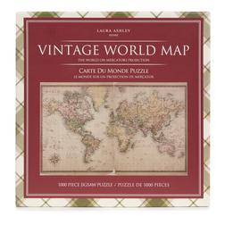 Пазл с изображением карты мира WORLD MAP JIGSAW (1000 PCS) 26*27 (Multi)