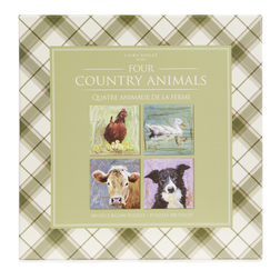 Набор пазлов с животными ANIMAL SET OF 4 JIGSAW (500 PCS) 26*27 (Multi)