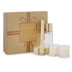 Подарочный набор с запахом миндаля MULLED SPICE MINI GIFT SET 20*10*7 (Gold)