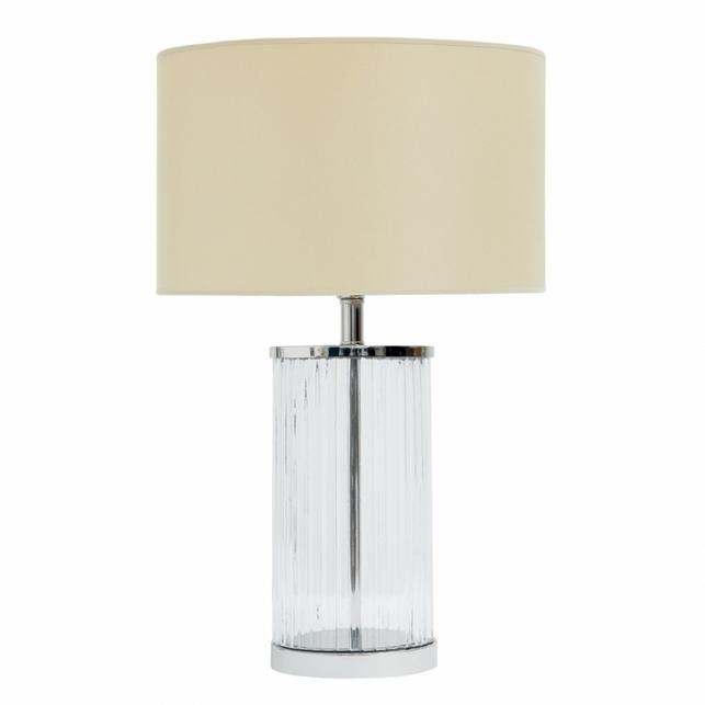 Настольная лампа небольшого размера RIPPLE PETITE 45*29 CLEAR