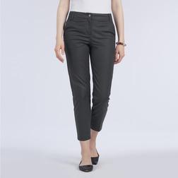 Штаны капри темно-серого цвета TR 059