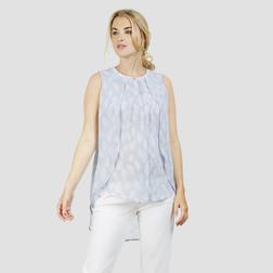 Очаровательная блузка оригинального кроя BL 036