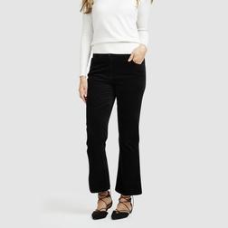 Красивые брюки-клёш черного цвета TR 243