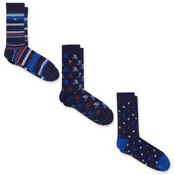 Очень красивые и теплые носочки с разными принтами ME 125