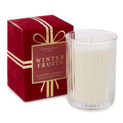 Ароматическая свеча в подарочной упаковке красного цвета WINTER FRUITS BOXED 10*7,5*7,5 (Red)