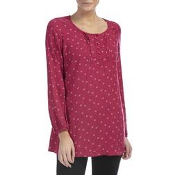 Легкое платье-туника цвета лепестков розы MD 827