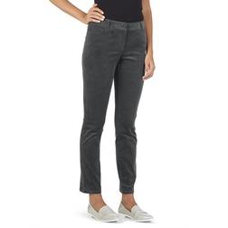 Вельветовые штаны из хлопка темно-серого цвета TR 923