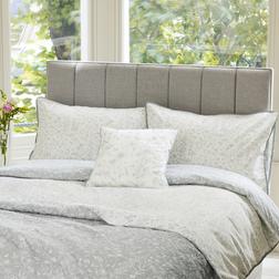 Красивый комплект постели с большим пододеяльником LISETTE KG 220*230, 50*75 set of-2 (Silver)