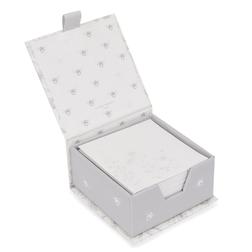 Бумага для записей с цветочным рисунком LISETTE MEMO BLOCK 9*9*4,8  (Cream/Grey)