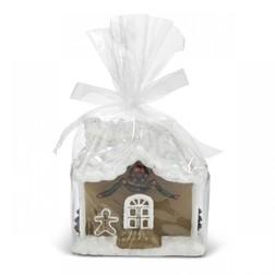 Свеча в форма домика из имбирного печенья GINGERBREAD HOUSE H13 (Multi)