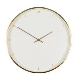 Большие настенные часы в золотистом обрамлении SOHO WALL LARGE  Ø60 (Gold)