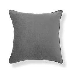 Декоративная подушка темно-серого цвета NIGELLA 50*50 (Pale Charcoal)