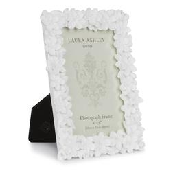 Рамка для фото с цветочными барельефами DECORATIVE FLORAL 10*15 (White)
